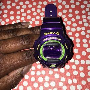 Baby-G Shock Purple Watch